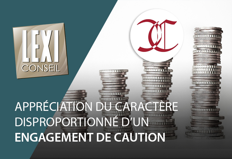 lexiconseil post caractere disproportionne engagement caution